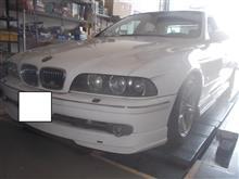 BMW E39 5シリーズ GH-DD28 530i ABS点灯