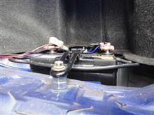 バッテリーカバー改造