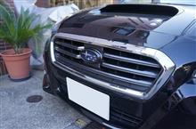 スバル レヴォーグ用ドライカーボン製フロントエンブレムカバー販売開始!