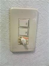 家のメンテナンス 換気扇タイマー交換 2回目