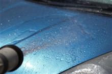 洗車して雨乞いの儀式になりました(;´∀`)