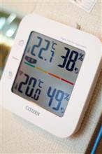 ▽ちゃんとした温度計が初夏をお知らせします