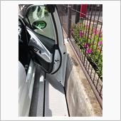運転席側のドアをもう傷つけた ...