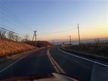 2017.04.16 フォレスターで夕陽ドライブ ← またかい(^^;;