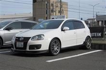 トータルアライメント調整...VW ゴルフ5 GTI ザックスリプレスショック