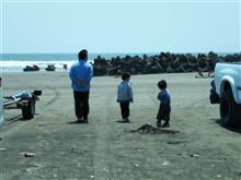 飯岡の海に行きました(´∀`∩)