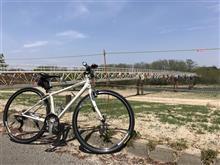 自転車のタイヤ交換してポタポタ~