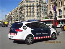 パトカーin Barcelona