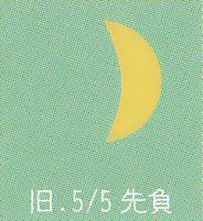 月暦 5月30日(火)