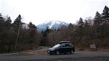 富士山!歩いては登っていませんがシャランで行けるところまで行きました