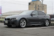 GR-XIキャンペーンエントリー BMW F30 320d 225/45R18+255/40R18