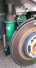 TEIN車高調リアのオイル漏れでピットイン(´・ω・`)