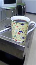 今朝もコーヒー@ 会社で飲むよ