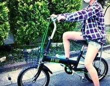 自転車完成\(^o^)/Reサイクル