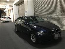 法定1年定期点検(車齢丸8年) BMW320i (E90) - 2017年4月☆