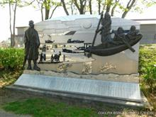 スカイラインGTーRと弁天歴史公園