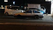 街角の名車たち89 トヨタ スプリンター・トレノ AE86 / 熊本