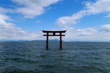 滋賀Touring!街路樹と湖の鳥居(2日目後半編)♪