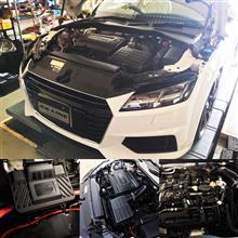 アウディTT 8Sにレースチップアルティメイト RaceChip Ultimate取付