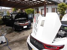 オイル交換&洗車w