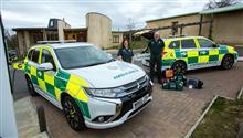 2017 Mitsubishi Outlander PHEV Ambulance : UK ・・・・