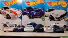 景気づけに ホットウィール CUSTOM DATSUN 240Z をブリバリーな月曜の朝♪ さぁ,今週も頑張って乗り切りましょうっ!!@旧金型や トミカ & マジョレット と比較中なう♬