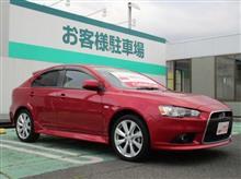 【 Used Car 】 最終型 2014 モデル ミツビシ ギャラン フォルティス スポーツバック ラリーアート ・・・・