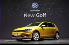 新型VWGOLF7発表ですね