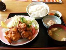 中国菜館 萬壽園 唐揚げ定食♪ (●^o^●)