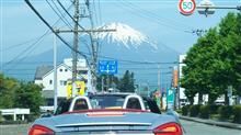 オープンカー倶楽部東海&関東合同富士山ツーリングに参加させていただきました。