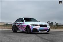 [車道楽日替セール] BMW M235i用 Zito Wheels 日本初上陸キャンペーン