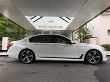 BMW 740e iPerformance M Sports 試乗