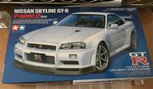 タミヤ R34 GT-R