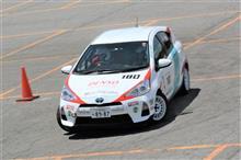 2017 TOYOTA Gazoo Racing Rally Challenge in 勝山