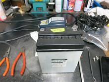 Z1のバッテリー交換。