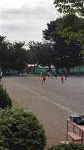 息子のサッカー。