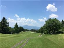 晴天の下、ゴルフコンペに参加してきました