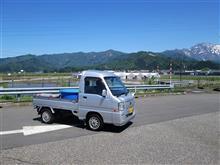 1年ぶりに神奈川相模原へ&油そば&燃費計測