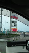 ガソリン  114円