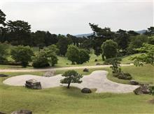 広島県ミッドアマチュアゴルフ選手権の下見