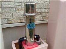 浄水器のフィルター交換