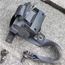 【ビート】【軽量化】助手席シートベルト撤去と、車検後の内装復旧