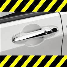 新型フリード フリード+!オーナー様に緊急のご案内。他車との違い一目瞭然の秘密 ドアハンドルカバー ドアトリム リアバンパープロテクター