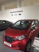 日産自動車の株主総会で展示されていた車たち