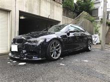 梅雨期中間洗車(^_^;)