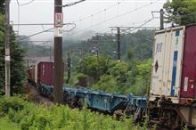 貨物列車の長時間停車