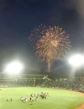 七夕の夜は満天の野球場で星座と花火を観戦@ほっともっとフィールド神戸