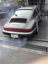 Porsche964カレラ2車検。