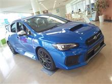 〈展示車〉SUBARU New WRX STI Type S