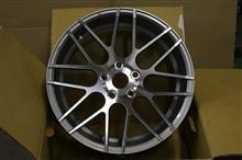 今日のホイール MRR Design GF7(MRRデザイン) -BMW E92 (フロント)用-